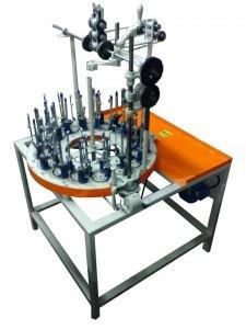 Máquina de fabricar elástico