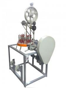 Máquina de fazer cordão para crachá