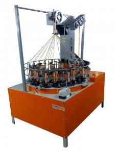 Máquina de trançar corda