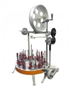 Máquina de trançar fio elétrico