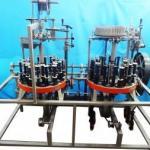 Máquina de trançar tralha para rede de pesca